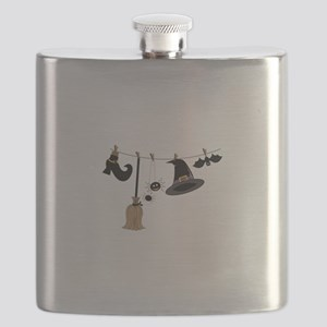 Witch Clothing Flask