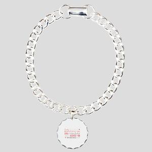 Happy mother's day Charm Bracelet, One Charm