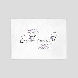 Junior Bridesmaid 2012 5'x7'Area Rug