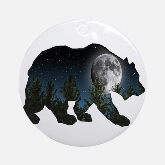 PERFECT MOONLIGHT Round Ornament