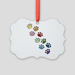 Paw Prints Ornament