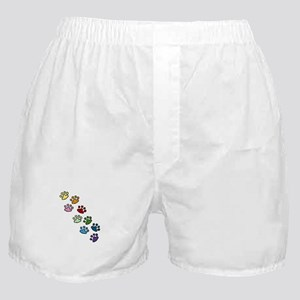 Paw Prints Boxer Shorts