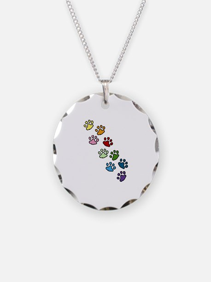 Paw Prints Necklace