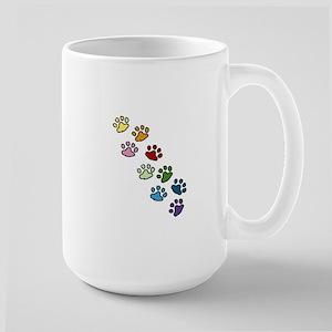 Paw Prints Mugs