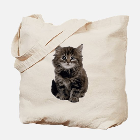 Adorable cute kitty Tote Bag