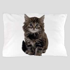 Adorable cute kitty Pillow Case