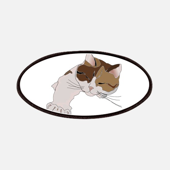 Calico Cat Sleeping Patches