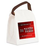 Build The Wall Canvas Lunch Bag