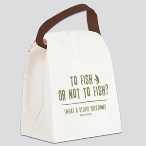 ToFish1 Canvas Lunch Bag