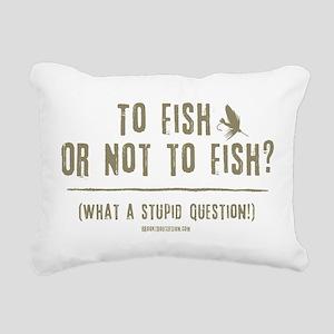 ToFish1 Rectangular Canvas Pillow