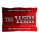 Build The Wall Pillow Case