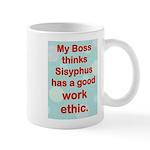 My Boss And Sisyphus Mugs