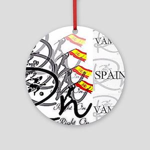 RaightOn Spain Round Ornament
