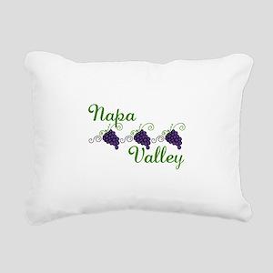 Napa Valley Rectangular Canvas Pillow
