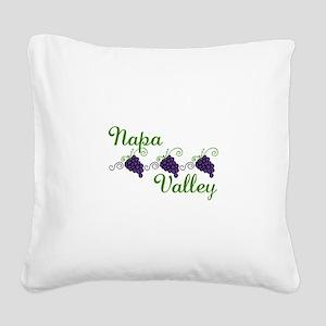 Napa Valley Square Canvas Pillow