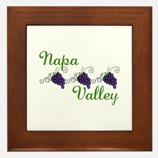 Napa Valley Framed Tile