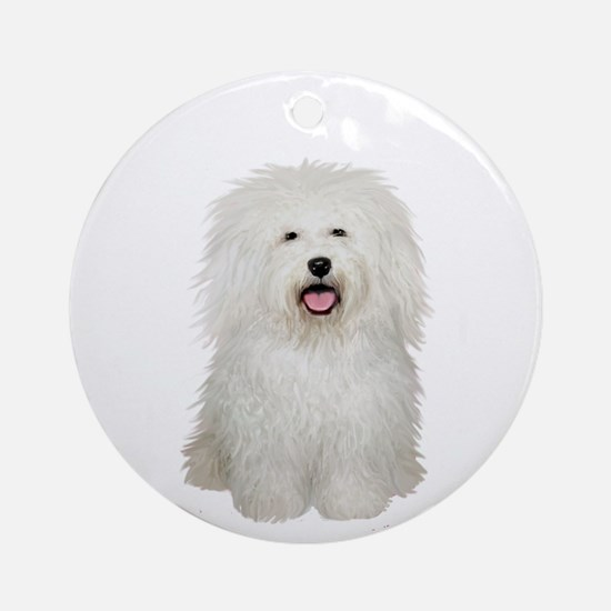 Bolognese #2 Ornament (round)
