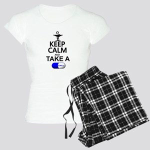 Keep Calm and Take a Chill Women's Light Pajamas