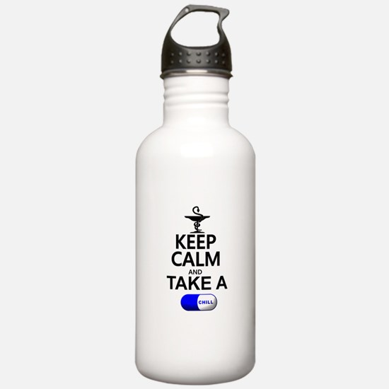 Keep Calm and Take a C Water Bottle
