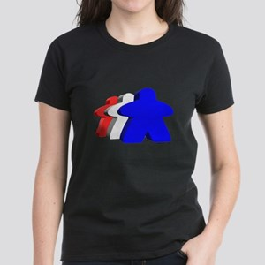 Red White and Blue Meeples T-Shirt