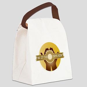 Corpus Meum Canvas Lunch Bag