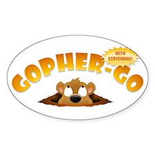 Gopher-Go Sticker