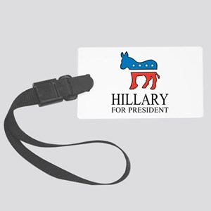Hillary for president | Vote Democrat Luggage Tag