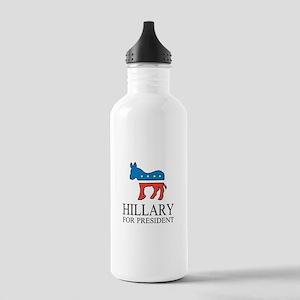 Hillary for president | Vote Democrat Water Bottle