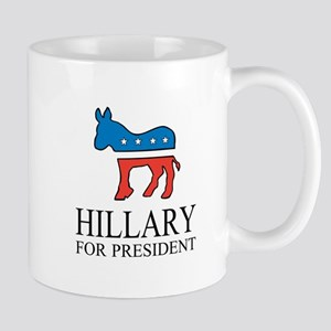Hillary for president | Vote Democrat Mugs