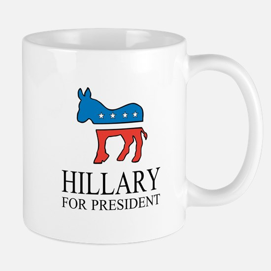 Hillary for president | Vote Democrat Mugs
