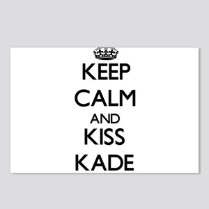 Keep Calm and Kiss Kade Postcards (Package of 8)