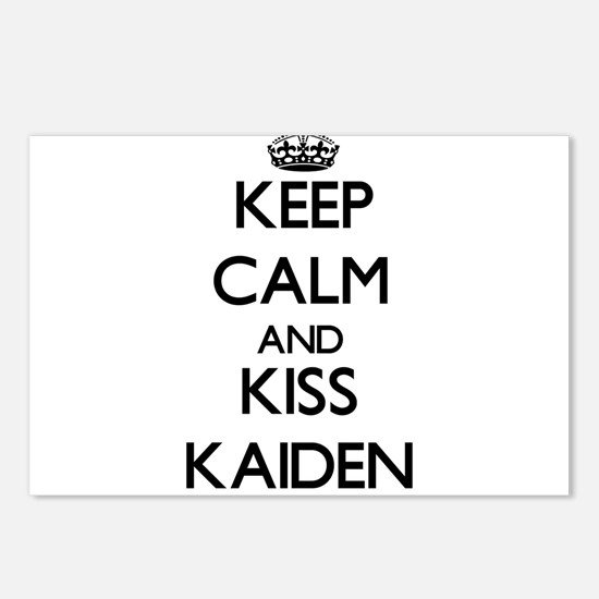 Keep Calm and Kiss Kaiden Postcards (Package of 8)