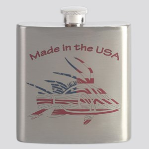 Made in the USA Tribal Hogfish Flask