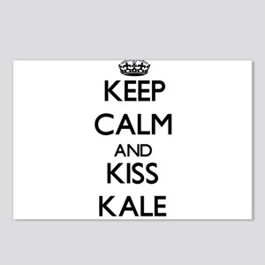Keep Calm and Kiss Kale Postcards (Package of 8)