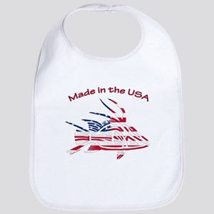 Made in the USA Tribal Hogfish Bib