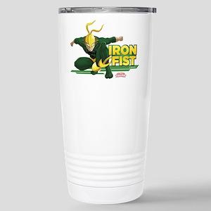 Marvel Iron Fist Stainless Steel Travel Mug