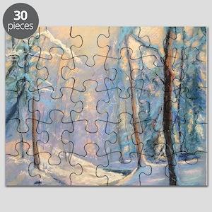 Winter brook pastel Puzzle