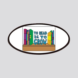 To Read Is To Grow Patches