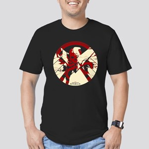 Marvel Hydra: Broken S Men's Fitted T-Shirt (dark)