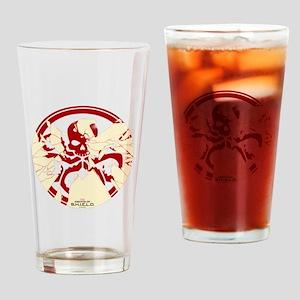 Marvel Hydra: Broken Shield Drinking Glass