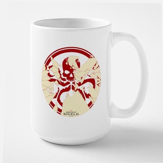 Marvel Hydra: Broken Shield Large Mug