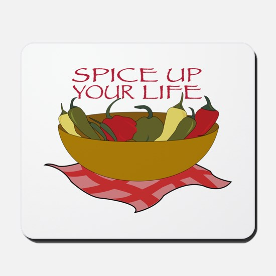 Spice Up Your Life Mousepad