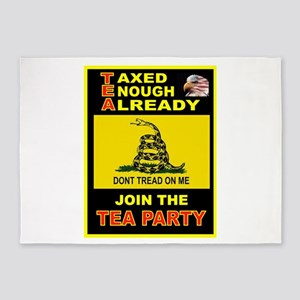 TEA PARTY 5'x7'Area Rug