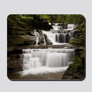 Buttermilk Falls, Ithaca, New York Mousepad