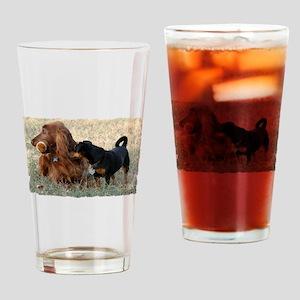 Football Strategy Drinking Glass