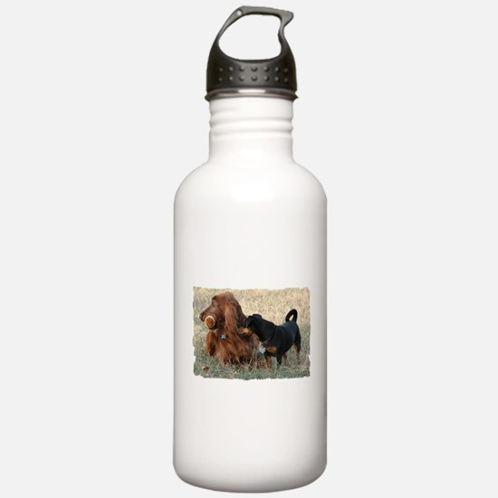 Football Strategy Water Bottle