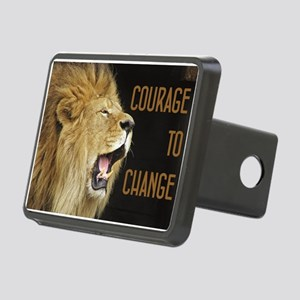 Courage To Change Rectangular Hitch Cover