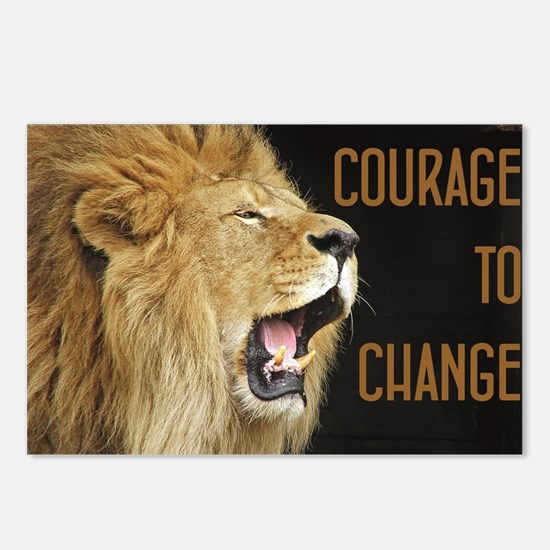 Courage To Change Postcards (Package of 8)