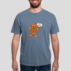 Oh Snap Gingerbread Man Mens Comfort Colors Shirt