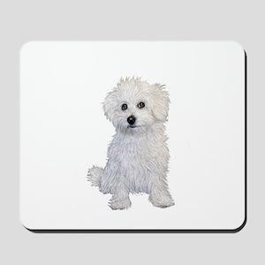 Bolognese Puppy Mousepad